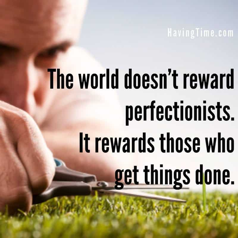 perfectionist