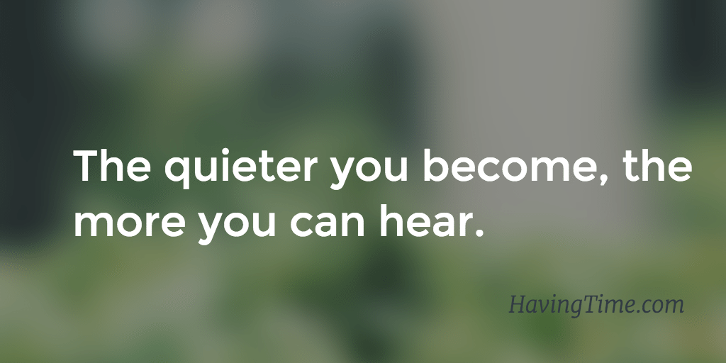quiet your mind quotes