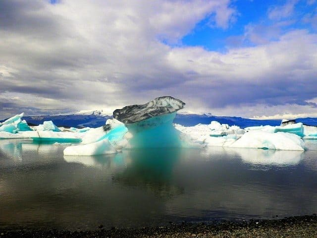 Iceberg in Vatnajökull National Park