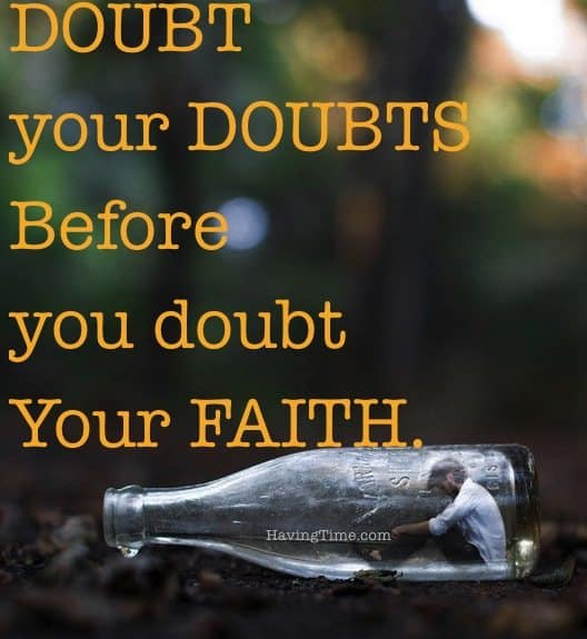 doubts quote