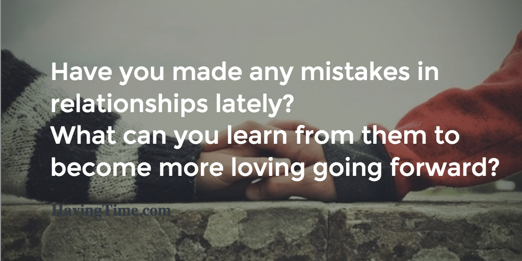 relationship mistakes