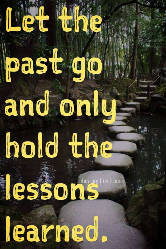 let go of the past quotes