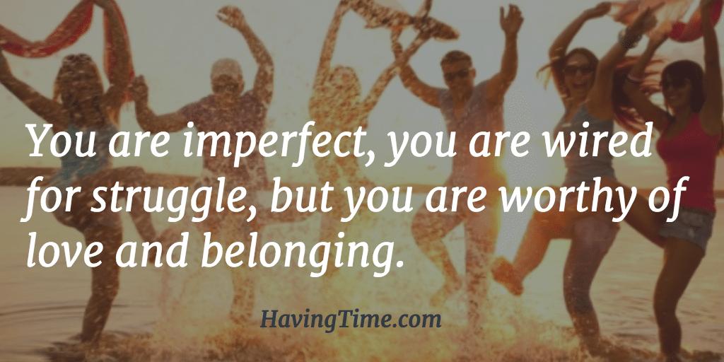 importance belonging