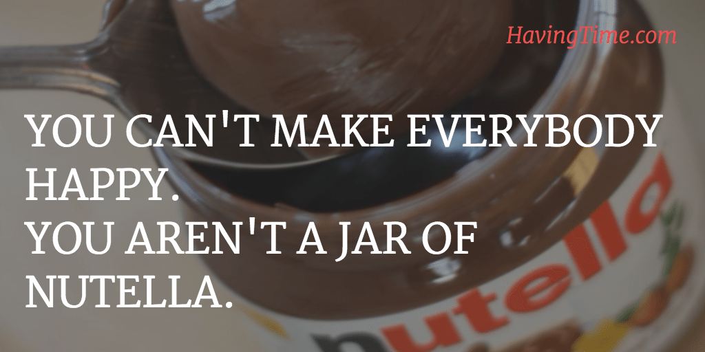happy nutella