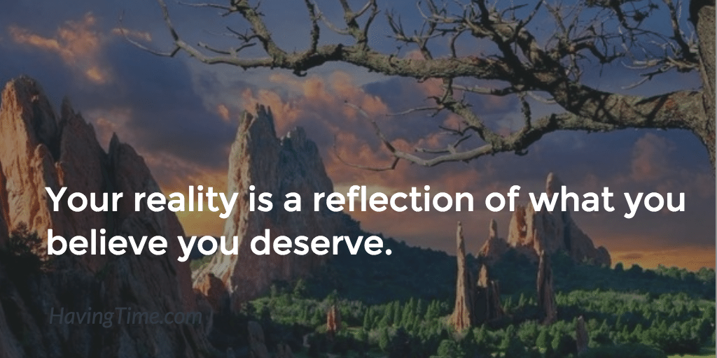 your reality is a reflection