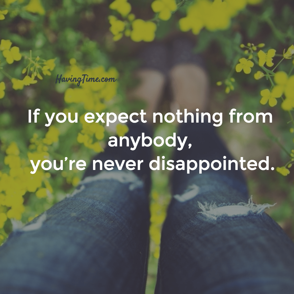expectations quote