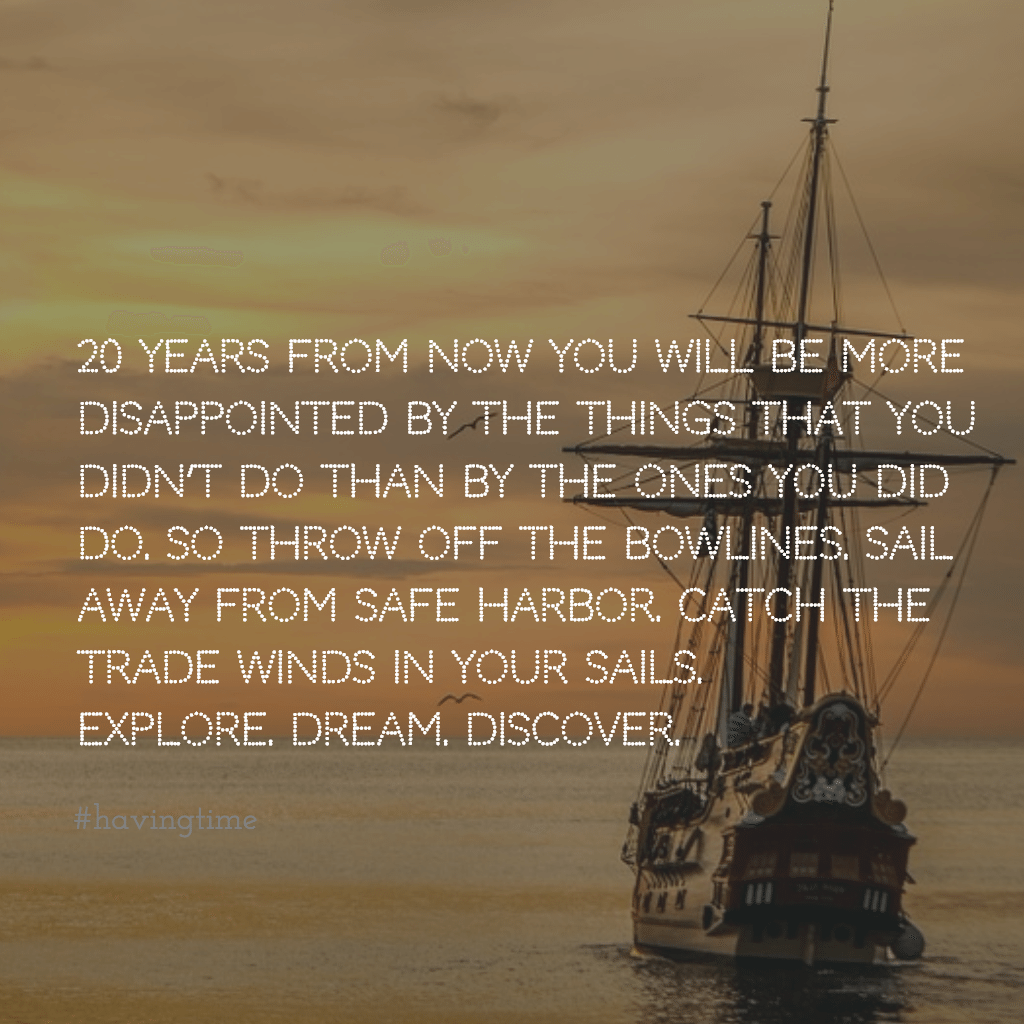 Mark Twain. Sail Away