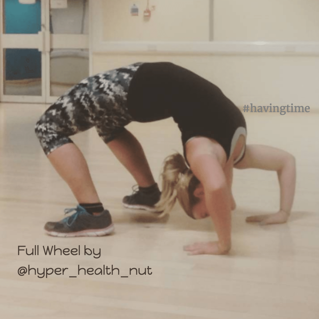 full wheel yoga