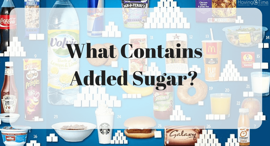 What Contains Added Sugar