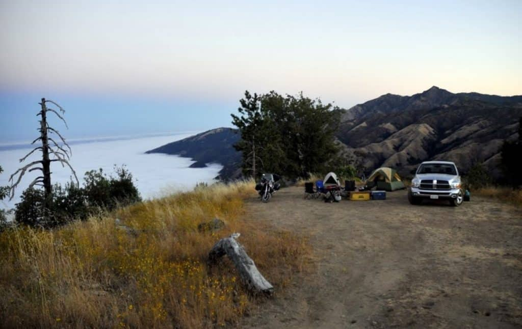 Arguably Prewitt Ridge is easiest to reach the campsite in California.  Located just 5 miles down an easy dirt road, this campground is easily  accessible ...