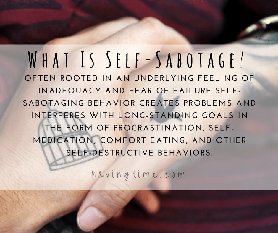 what is self-sabotage