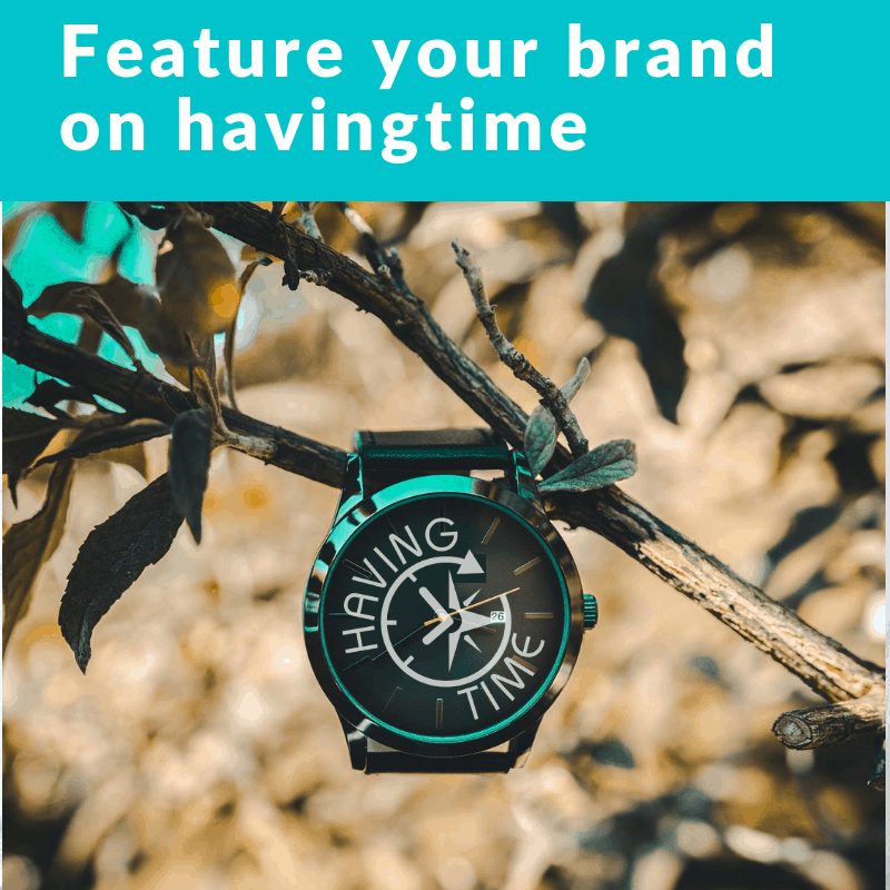 feature your brand on havingtime