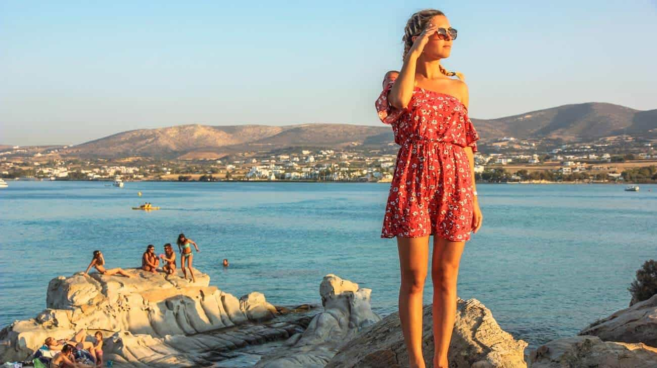 best beaches on Paros Island in Greece